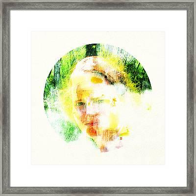 Miss. Sunshine 2 Framed Print by Greta Thorsdottir