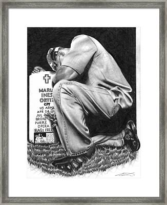 Miss You Framed Print by Michael Reymann