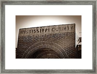 Missco High School In Arkansas Framed Print