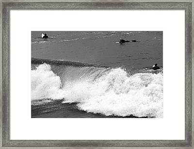Missed Opportunity Framed Print by John Rizzuto