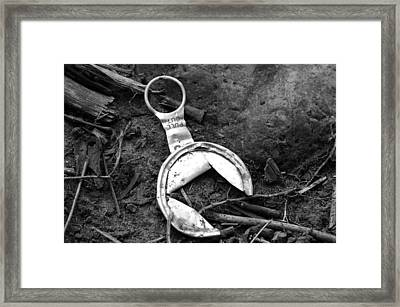 Missing A Step Framed Print by Loretta Justice