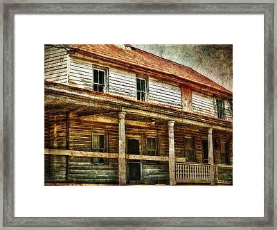 Missing A Window Framed Print by Kathy Jennings