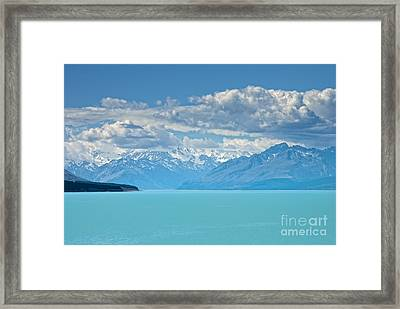 Missing In The Blu Framed Print by Roberto Bettacchi