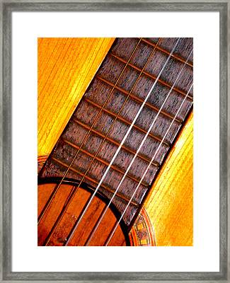 Missing String Framed Print by Jose Lopez