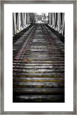 Framed Print featuring the photograph Missing Tracks by Matti Ollikainen