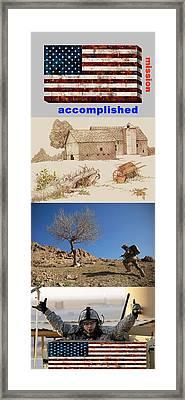 Mission Accomplished Framed Print by Terri Mertz