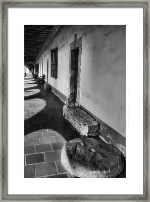 Mission Artifacts Framed Print