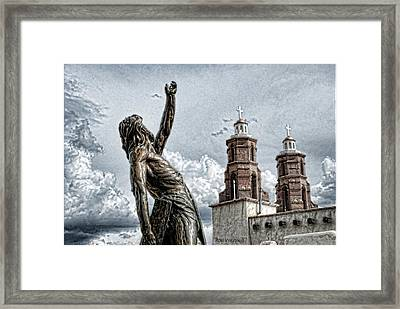 Mission At San Luis Framed Print