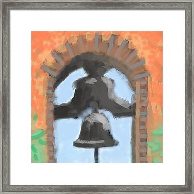 Mission Bell Framed Print