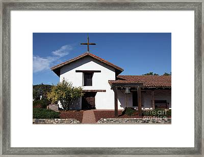 Mission Francisco Solano - Downtown Sonoma California - 5d19295 Framed Print by Wingsdomain Art and Photography