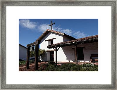Mission Francisco Solano - Downtown Sonoma California - 5d19300 Framed Print