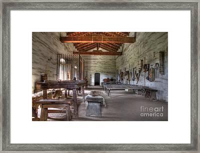 Mission La Purisima Main Quarters Framed Print by Bob Christopher