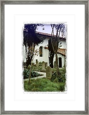 Mission San Francisco De Asis - II Framed Print