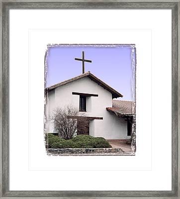 Mission San Francisco Solano - I Framed Print by Ken Evans