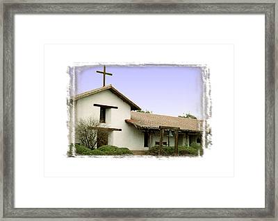 Mission San Francisco Solano - II Framed Print by Ken Evans