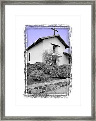 Mission San Francisco Solano - IIi Framed Print by Ken Evans