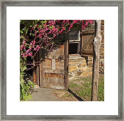 Mission San Jose 3 Framed Print