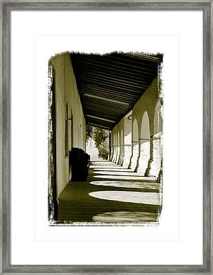 Mission San Juan Bautista - IIi Framed Print