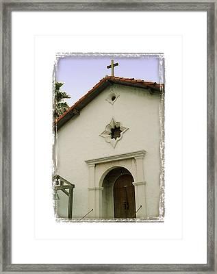 Mission San Rafael Arcangel - I Framed Print by Ken Evans