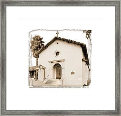 Mission San Rafael Arcangel - II Framed Print by Ken Evans