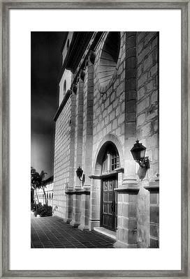 Mission Santa Barbara IIi Framed Print