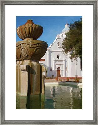 Mission Santa Cruz Framed Print