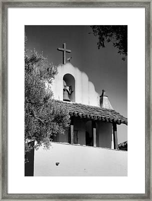 Mission Santa Ines II Framed Print
