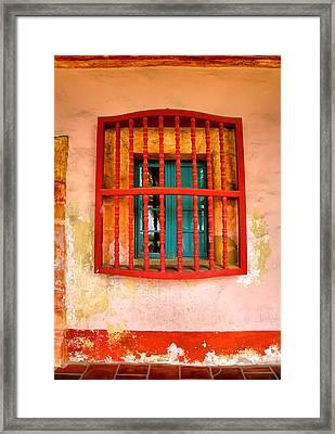 Mission Window Framed Print