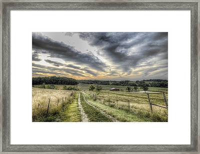 Missouri Dawn Framed Print by William Fields