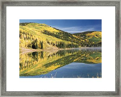 Mist On The Water Framed Print by Stacey Grant