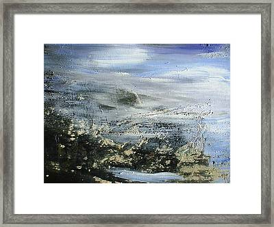 Mist On Water Framed Print by Tanya Byrd