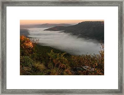 Mistfull Framed Print