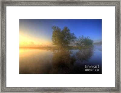 Misty Dawn 1.0 Framed Print by Yhun Suarez