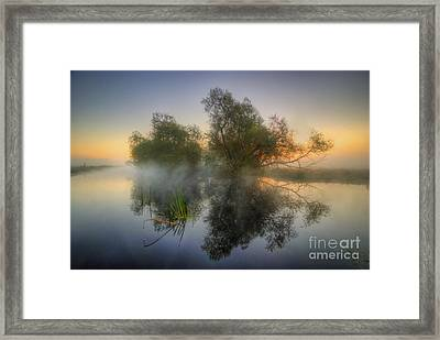 Misty Dawn 2.0 Framed Print by Yhun Suarez