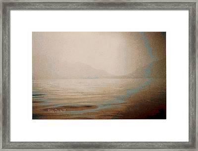 Misty Day Framed Print by Jean Paul LeBlanc
