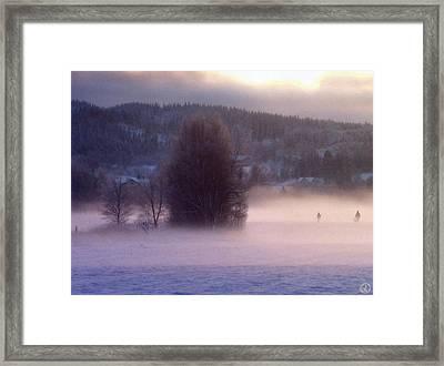 Misty Morning 2 Framed Print