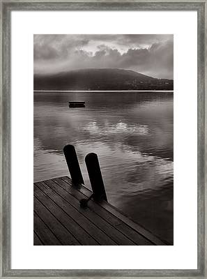 Misty Morning I Framed Print by Steven Ainsworth