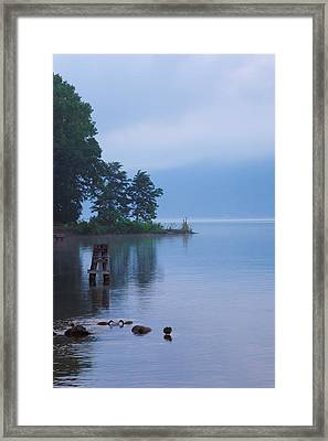 Misty Morning II Framed Print by Steven Ainsworth