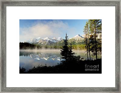 Misty Reflections Framed Print by Frank Townsley