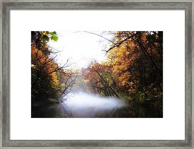 Misty Wissahickon Framed Print by Bill Cannon