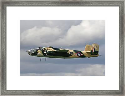Mitchell B25 Russels Raiders Framed Print by Ken Brannen