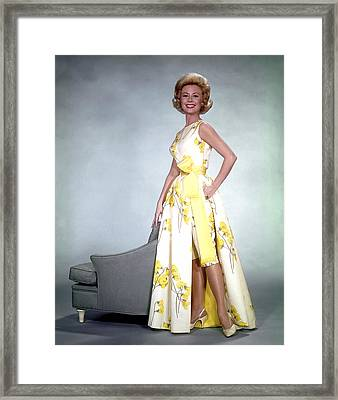 Mitzi Gaynor, 1950s Framed Print by Everett