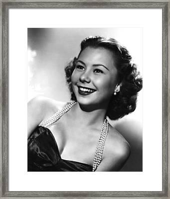 Mitzi Gaynor, Ca. 1950 Framed Print by Everett