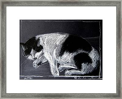 Mitzy Framed Print