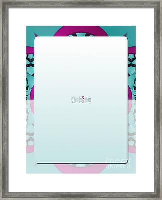Mix Back Framed Print