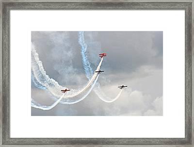 Mixed Aerobatics Framed Print