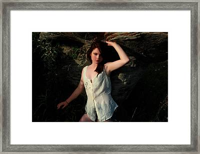 Mixed Emotion Framed Print