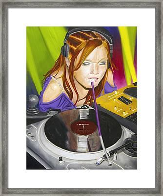Mixtress Framed Print