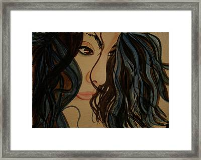 Framed Print featuring the painting MMG by Teresa Beyer