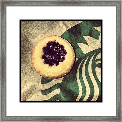 Mmm Delicious Cherry Pies Framed Print